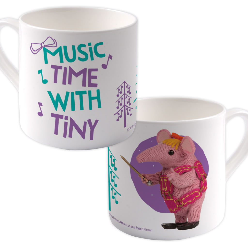 Music Time Clangers Bone China Mug