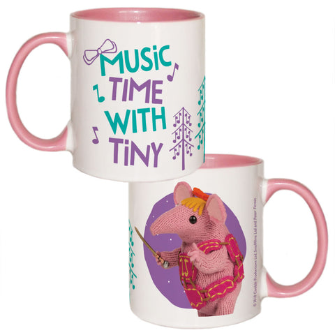 Music Time Clangers Coloured Insert Mug