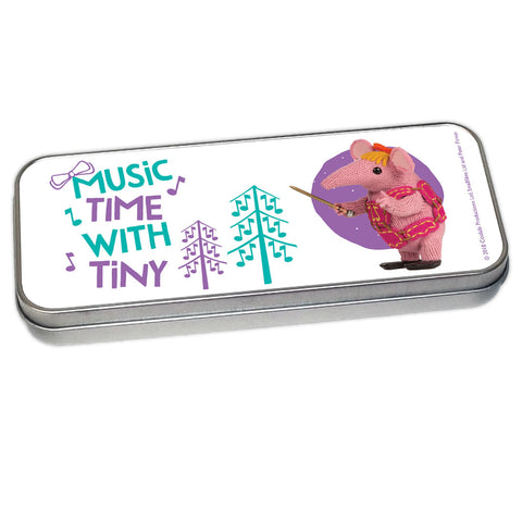Music Time Clangers Pencil Tin