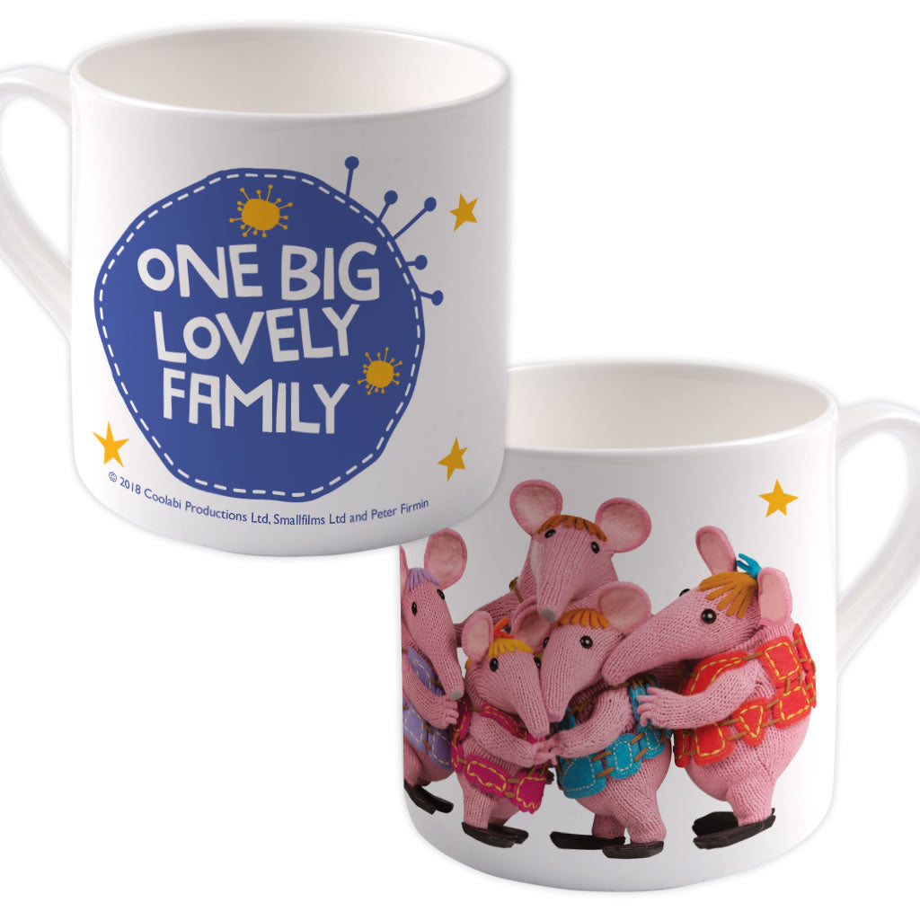 Family Clangers Bone China Mug