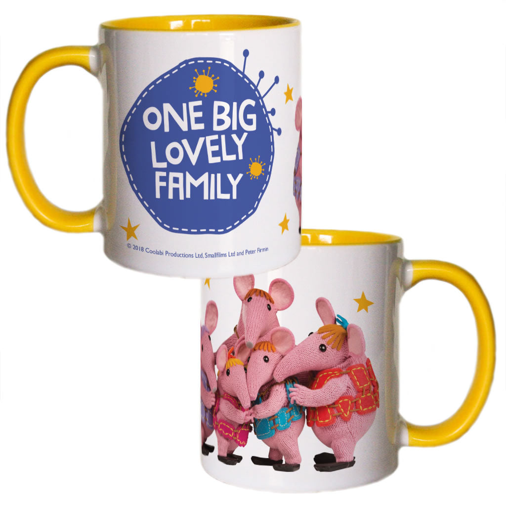 Family Clangers Coloured Insert Mug