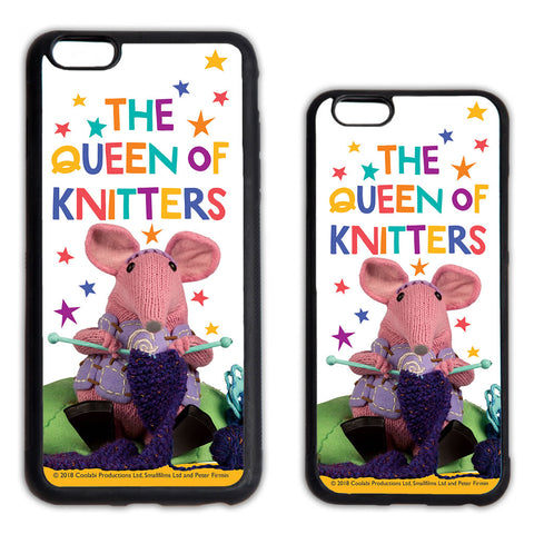 The Queen of Knitters Clangers Phone Case