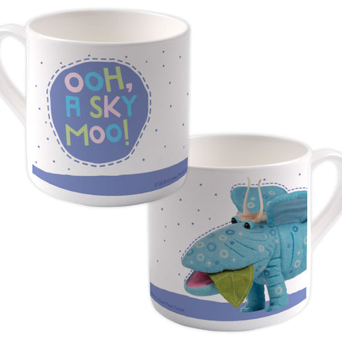 Sky Moo Clangers Bone China Mug (Lifestyle)