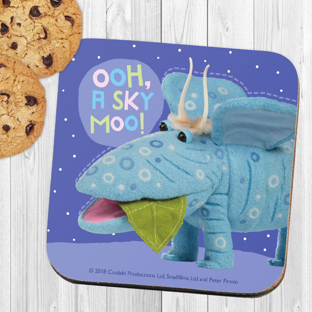 Sky Moo Clangers Coaster