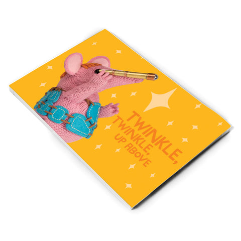 Twinkle Twinkle Clangers A5 Note Pad
