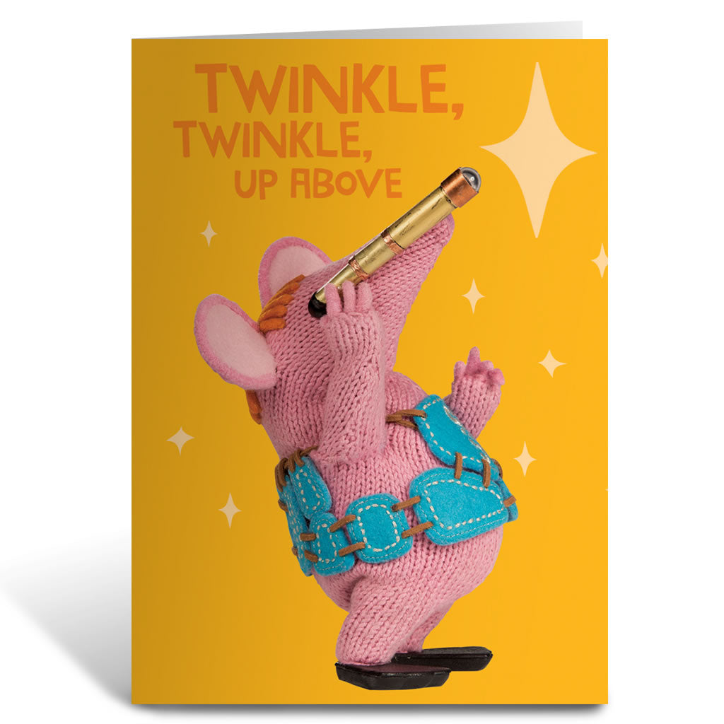 Twinkle Twinkle Clangers Greeting Card