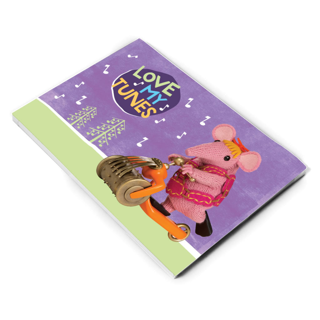 Love My Tunes Clangers A5 Note Pad