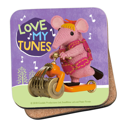 Love My Tunes Clangers Coaster