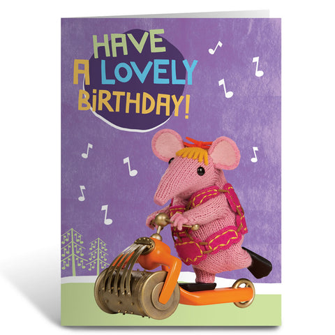Lovely Birthday Clangers Greeting Card