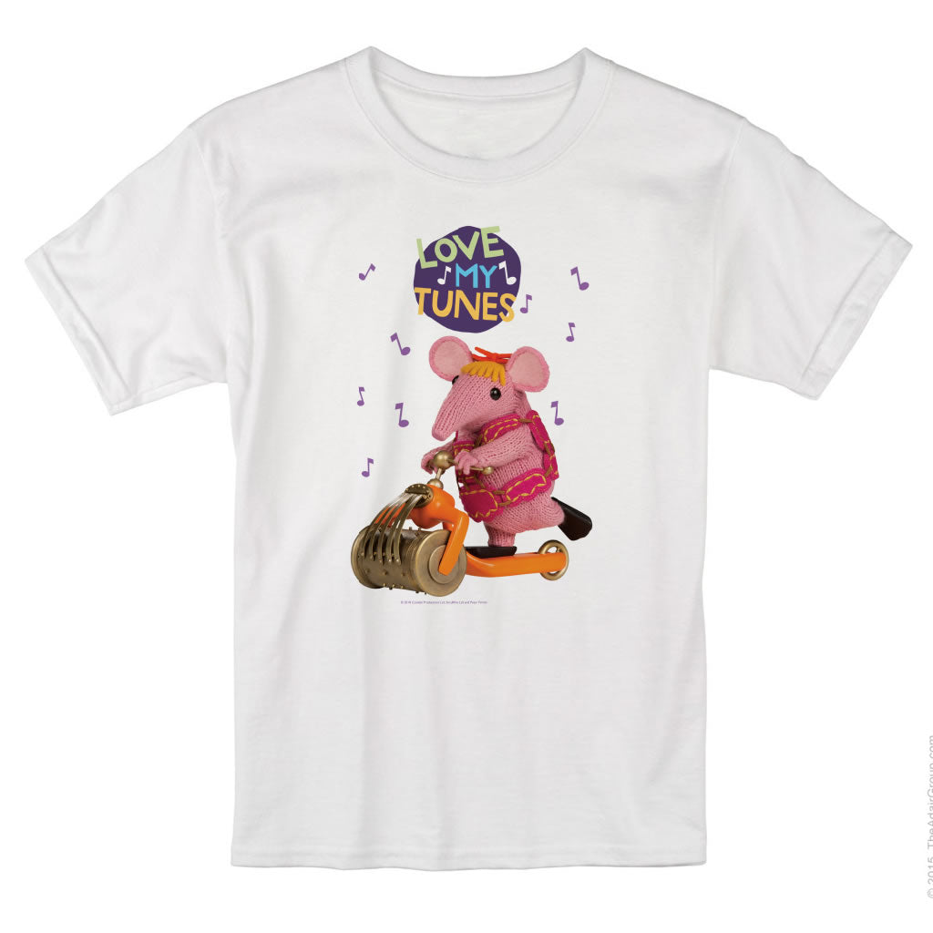 Love my Tunes Clangers T-Shirt