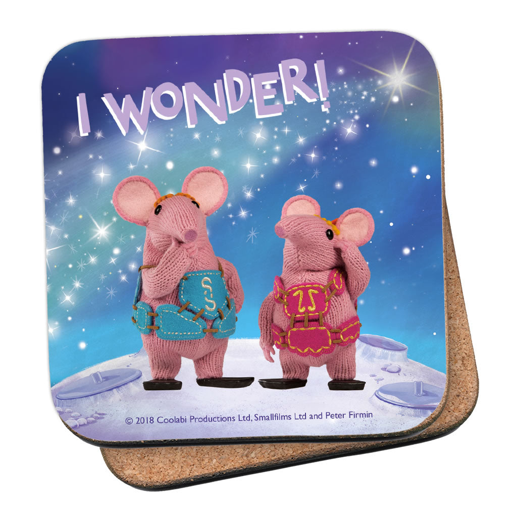 I Wonder Clangers Coaster