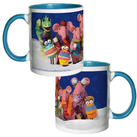 Season's Greetings Clangers Coloured Insert Mug