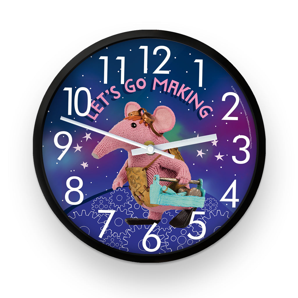 Let's Go Making Clangers Clock