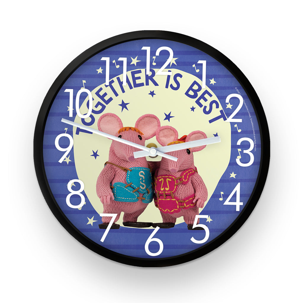 Together Is Best Clangers Clock