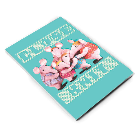 Close Knit Clangers A5 Note Pad