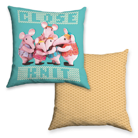 Close Knit Clangers Cushion
