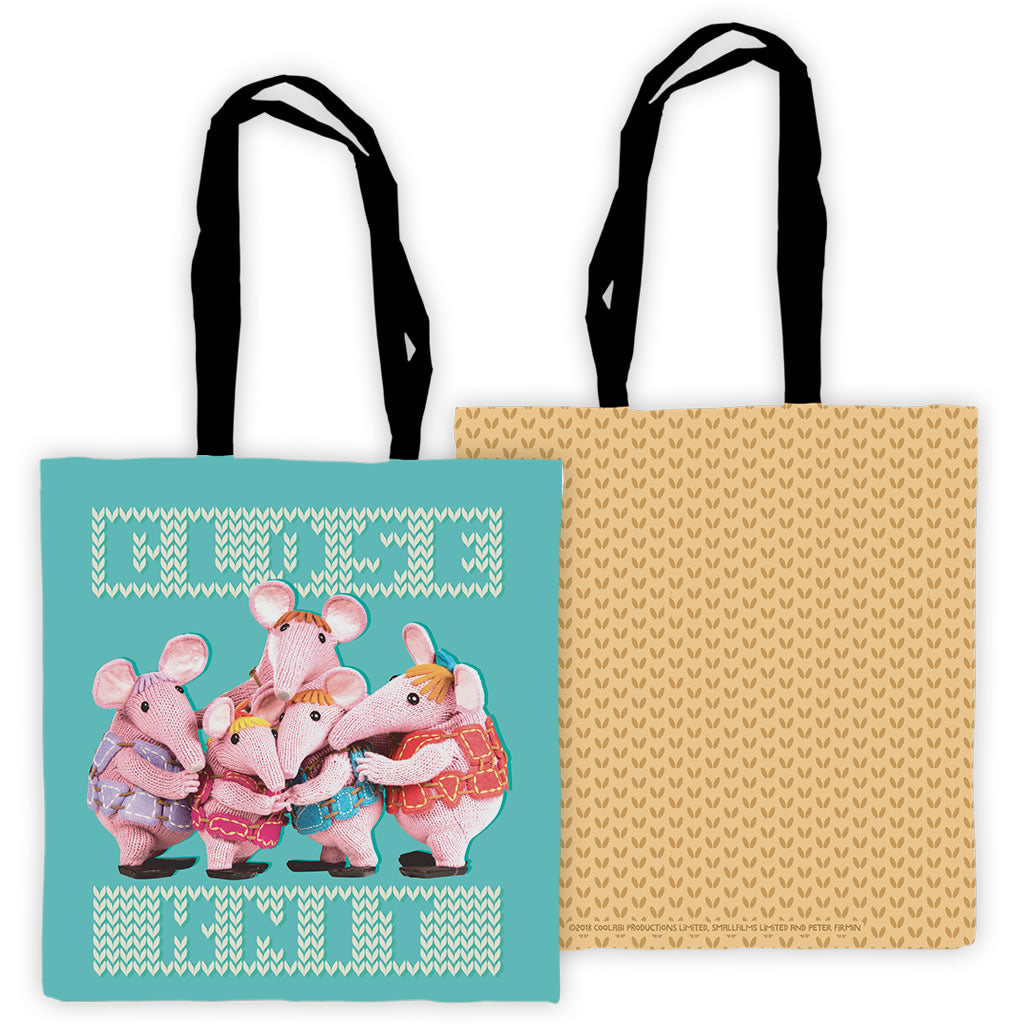 Close Knit Clangers Edge To Edge Tote Bag