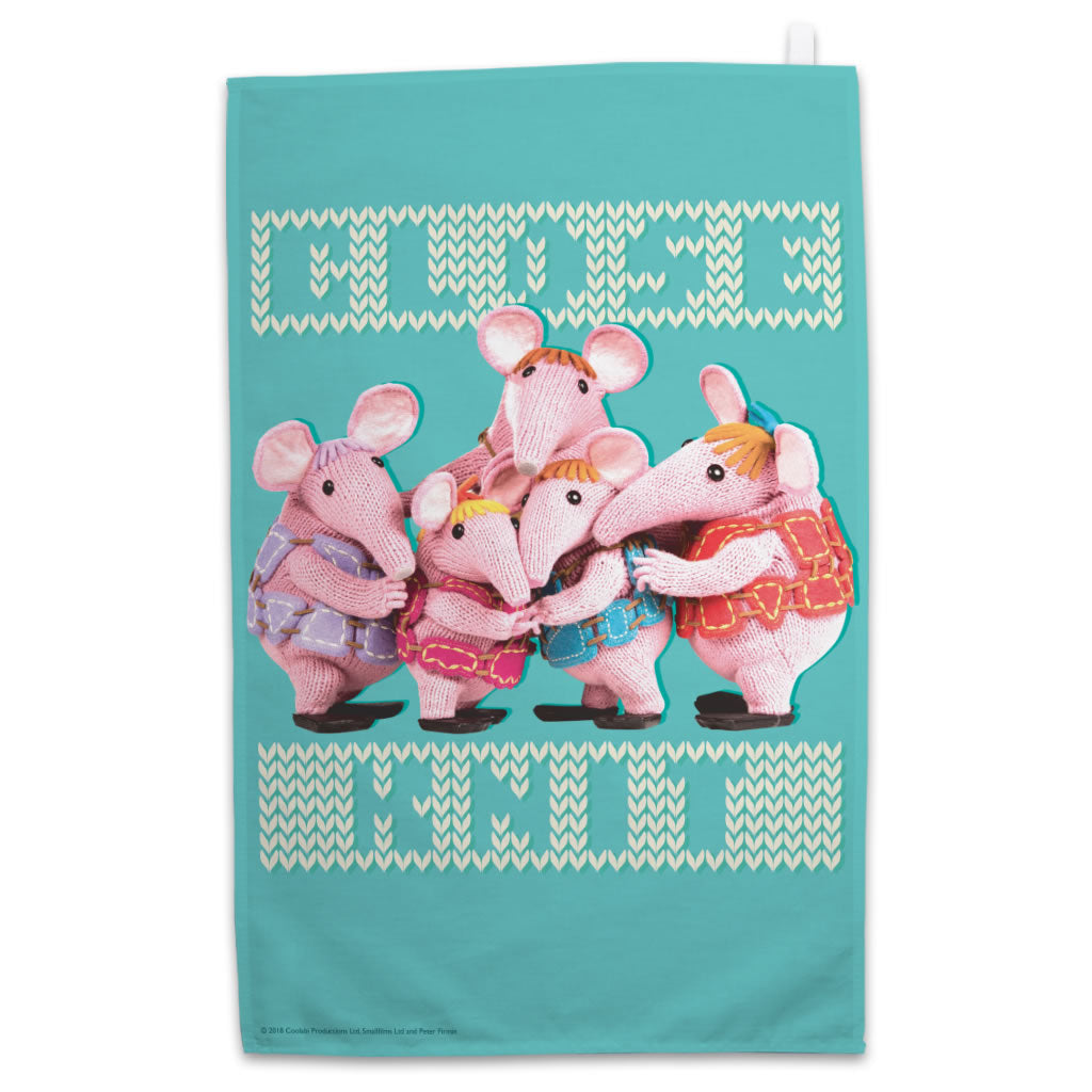 Close Knit Clangers Teatowel