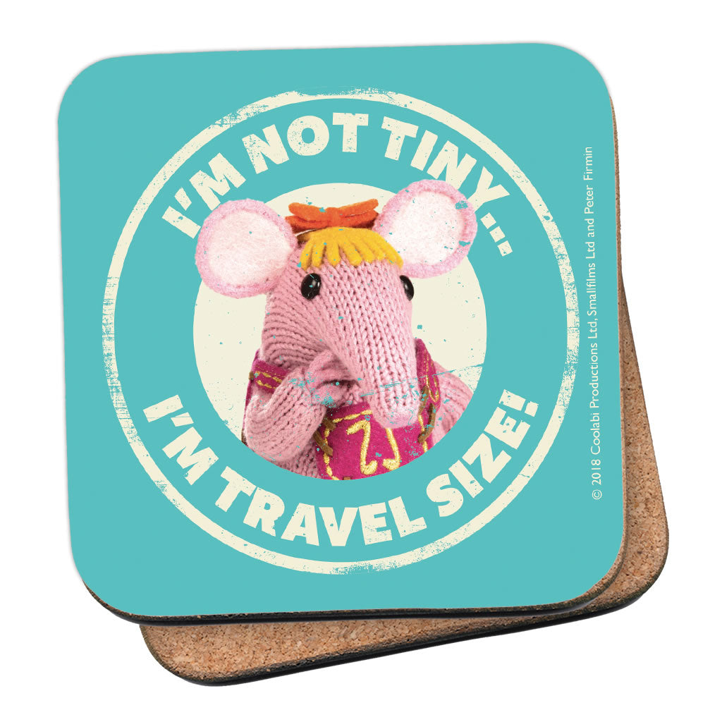 Not Tiny Clangers Coaster