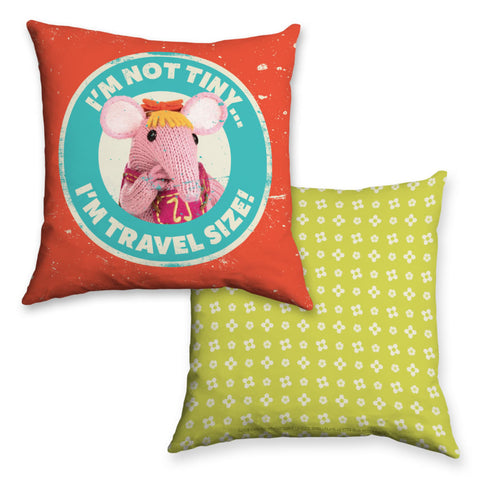 Not Tiny Clangers Cushion (Lifestyle)