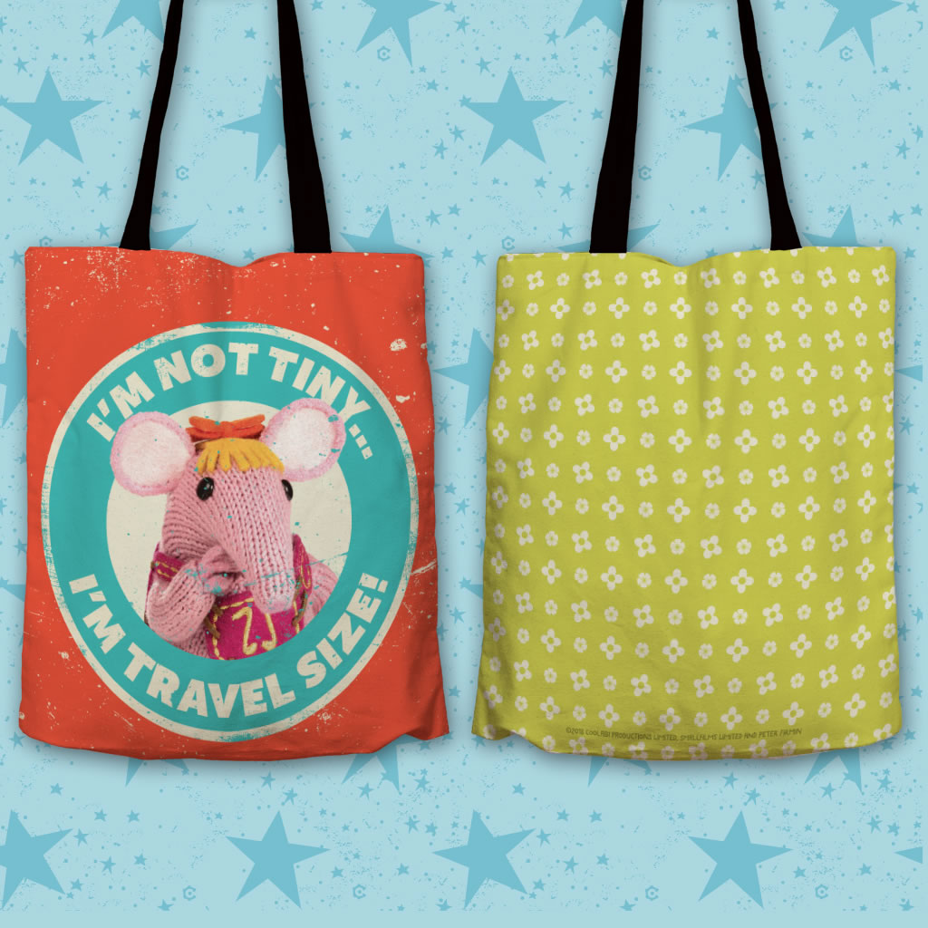 Not Tiny Clangers Edge To Edge Tote Bag