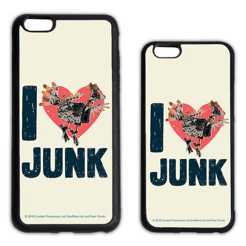 I Love Junk Clangers Phone Case