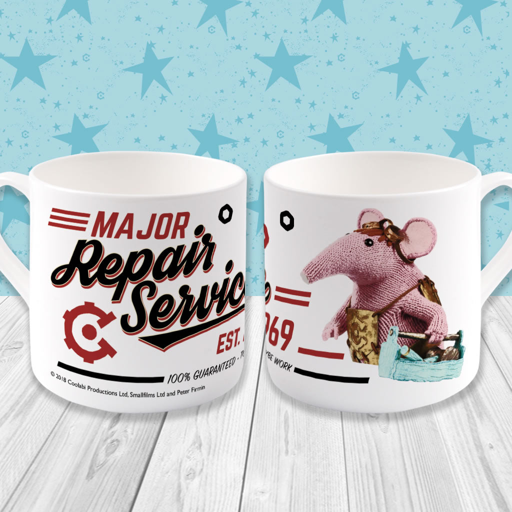Repair Service Clangers Bone China Mug