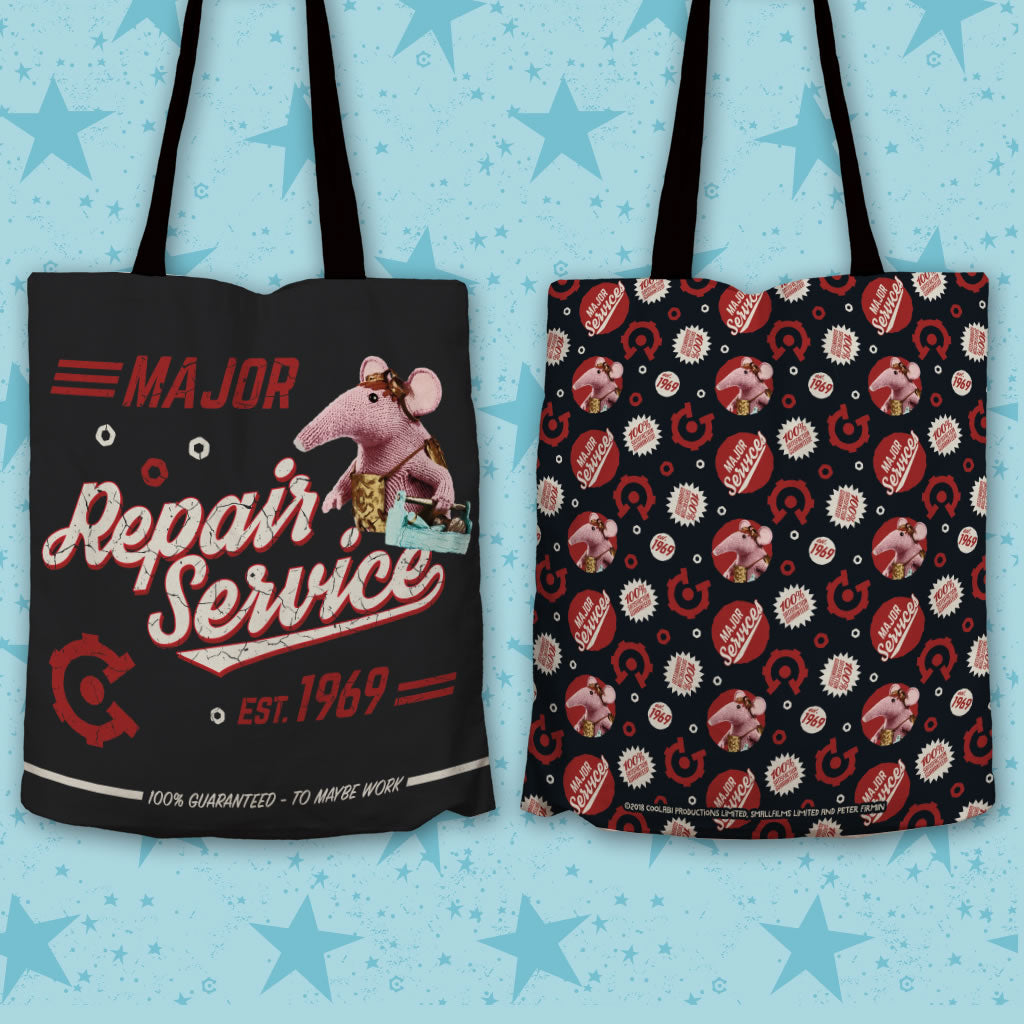 Repair Service Clangers Edge To Edge Tote Bag