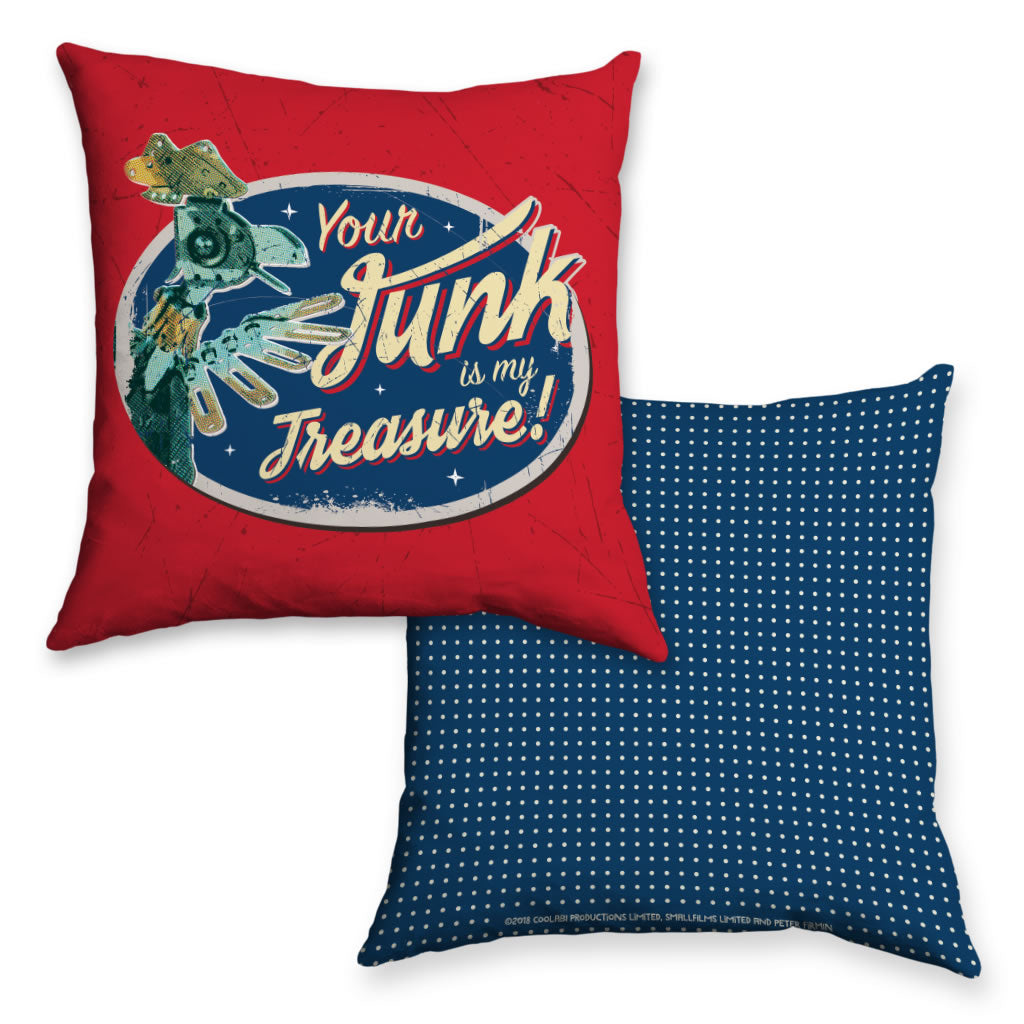 Junk Removal Clangers Cushion