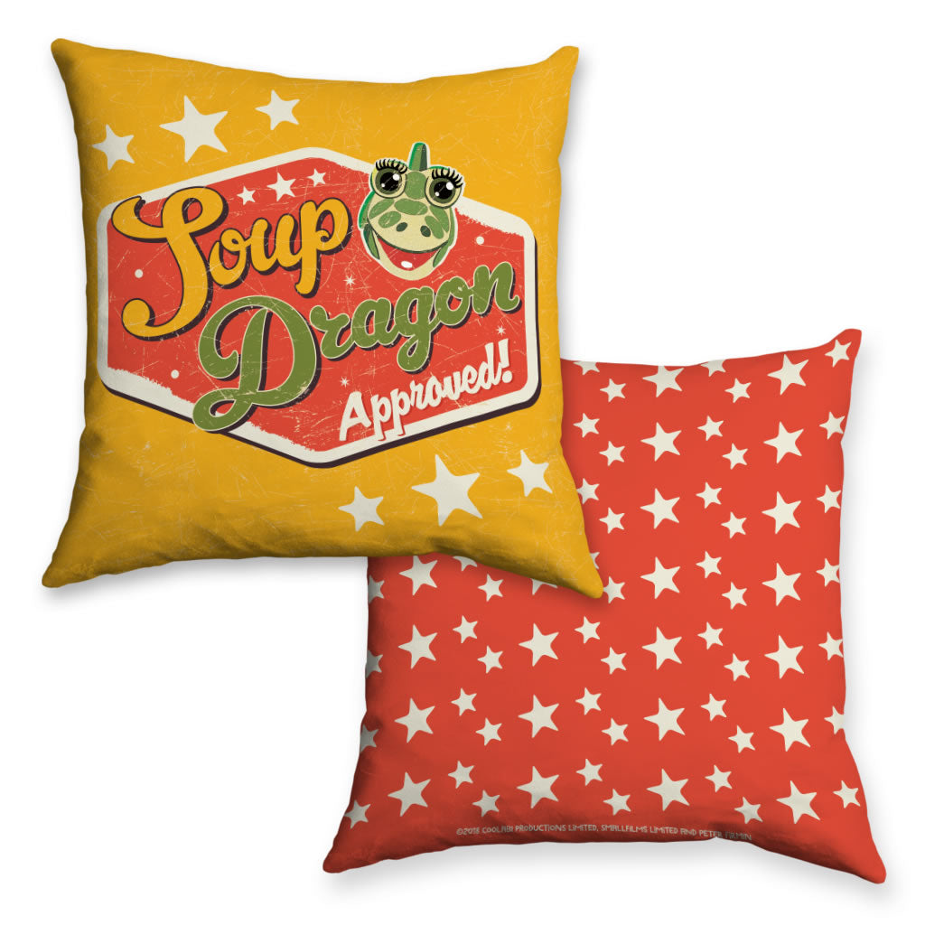Soup Dragon Clangers Cushion (Lifestyle)
