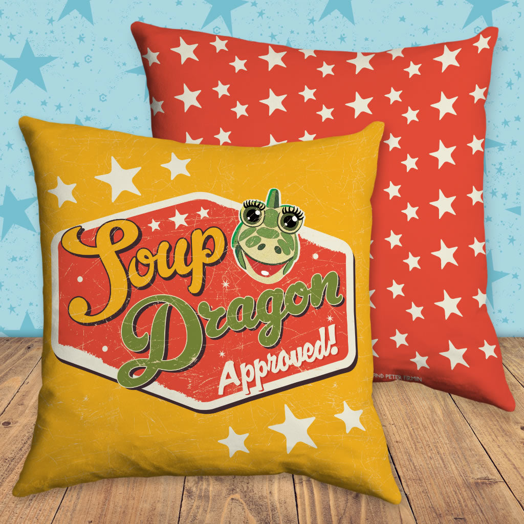 Soup Dragon Clangers Cushion
