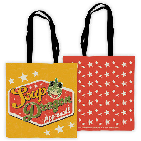 Soup Dragon Clangers Edge To Edge Tote Bag
