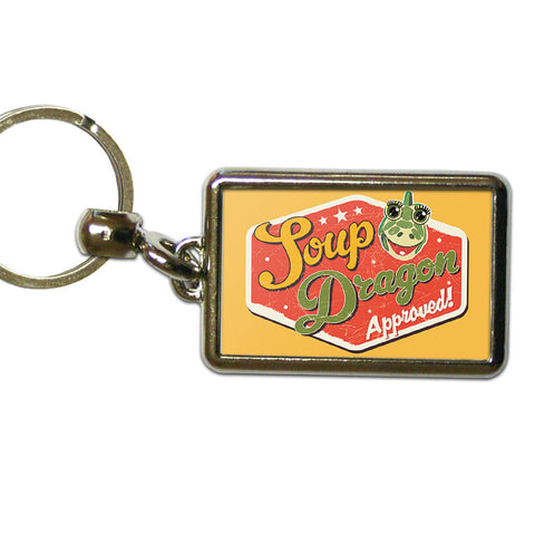 Soup Dragon Clangers Metal Keyring