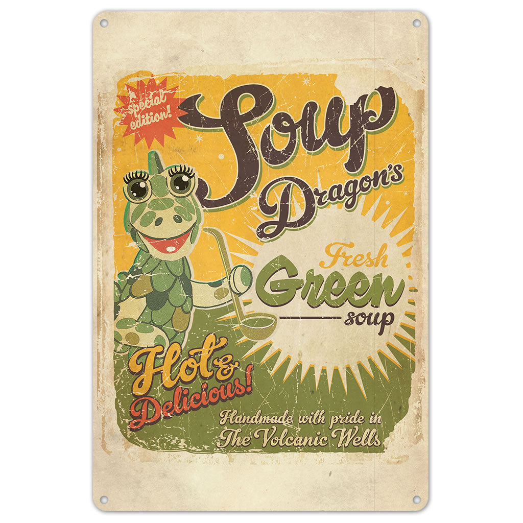 Soup Dragon Clangers Metal Sign