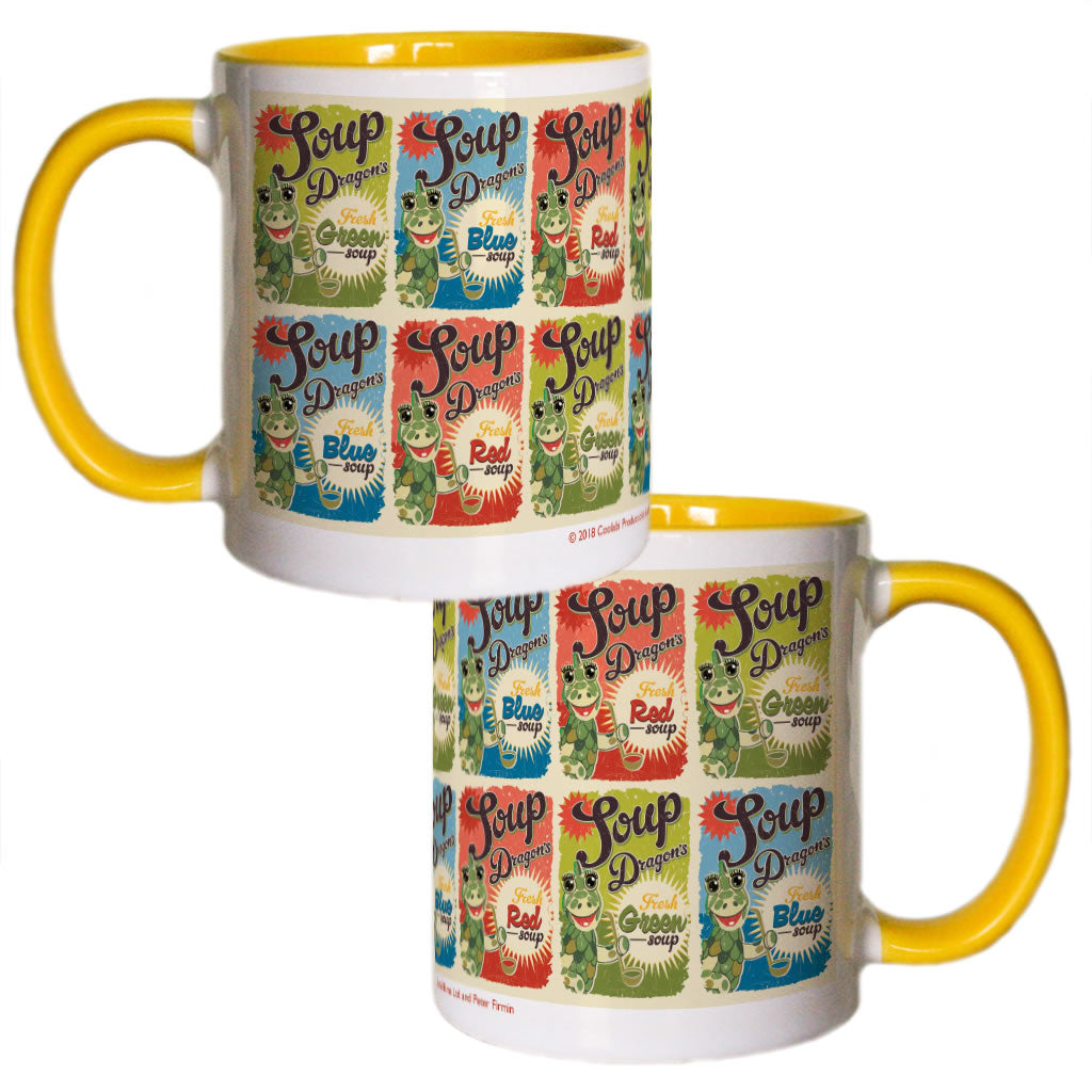 Soup Dragon Clangers Coloured Insert Mug