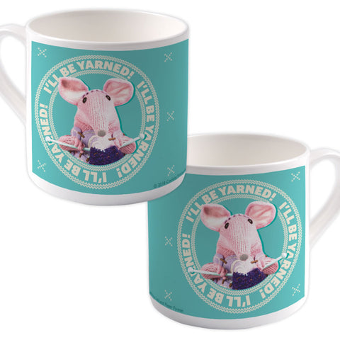 I'll be Yarned Clangers Bone China Mug