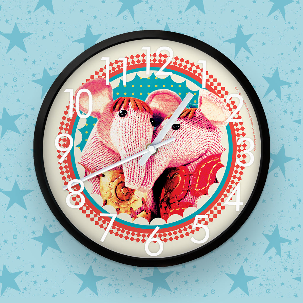 Cuddly Clangers Clock