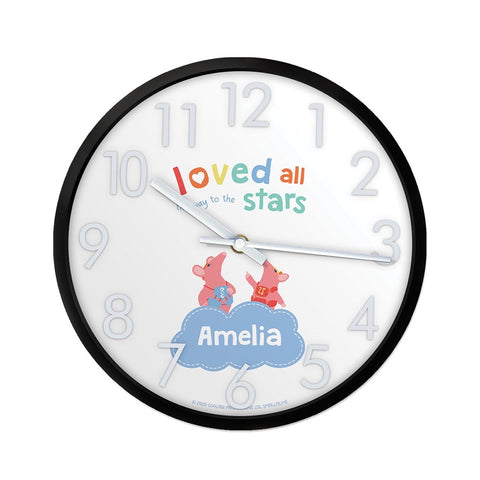 Clangers Stars Personalised Clock