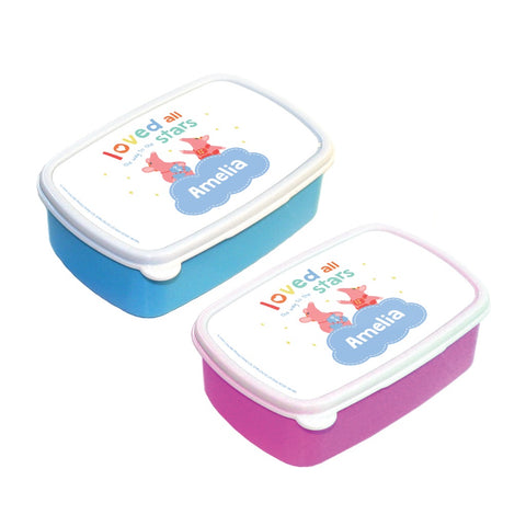 Clangers Stars Personalised Lunchbox