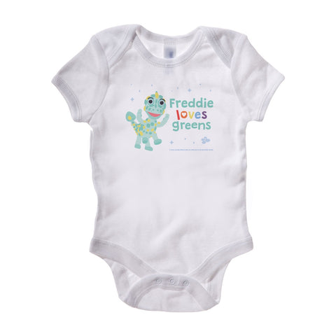 Clangers Greens Personalised Baby Grow Personalised Baby Grow