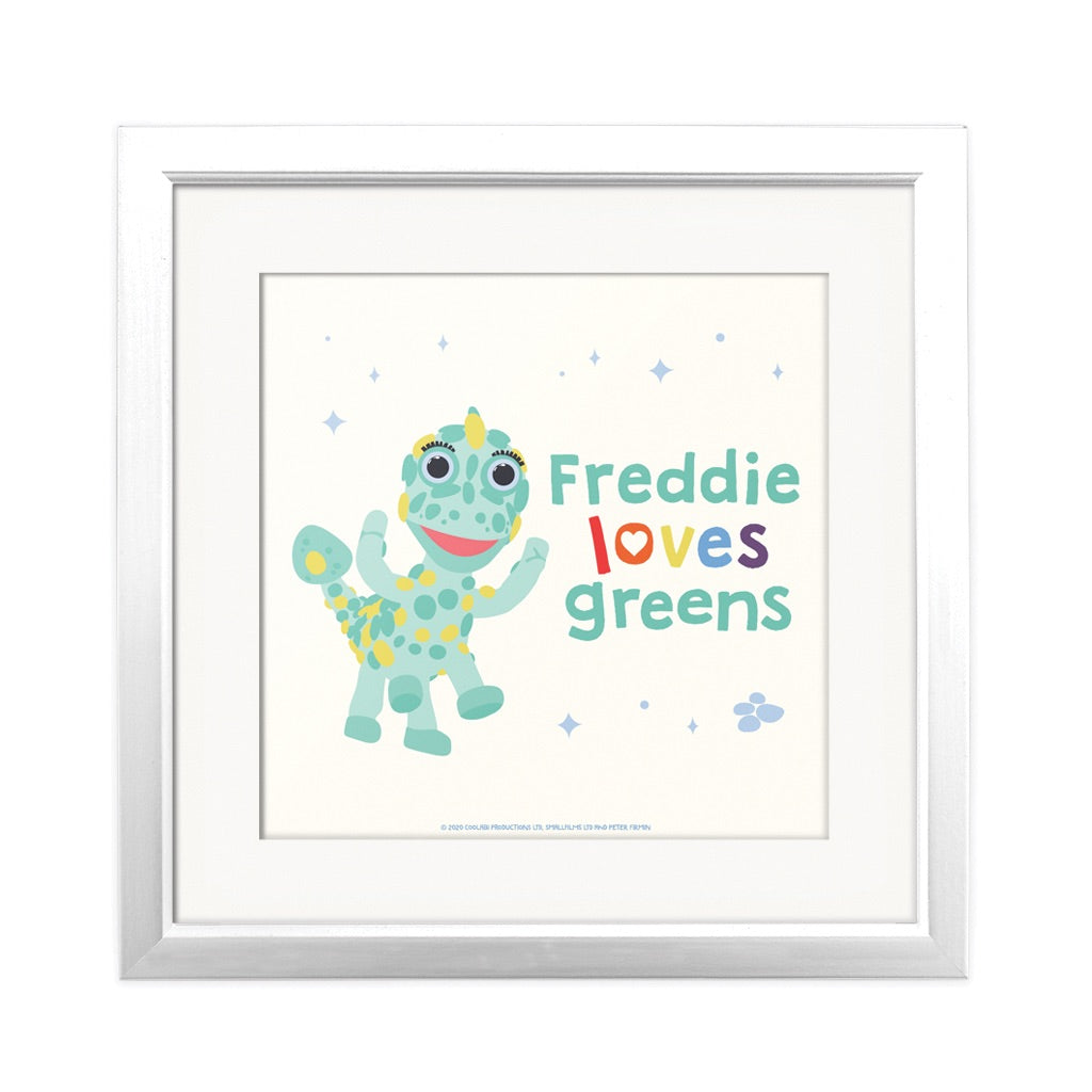 Clangers Greens Personalised Square Art Print Personalised Square Art Print