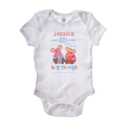 Clangers Tiny Ones Personalised Baby Grow Personalised Baby Grow