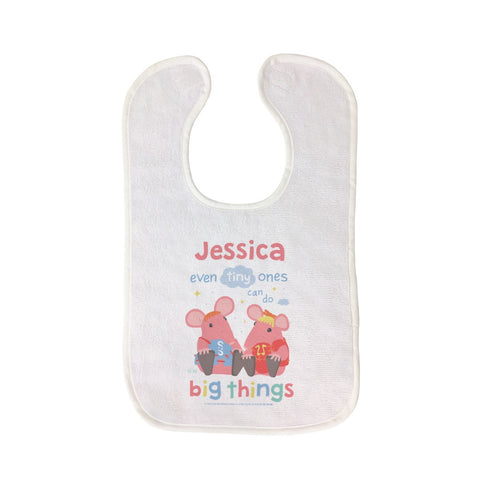 Clangers Tiny Ones Personalised Bib