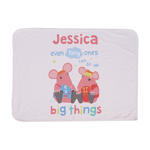 Clangers Tiny Ones Personalised Blanket