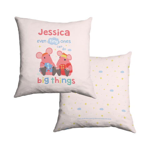 Clangers Tiny Ones Personalised Cushion