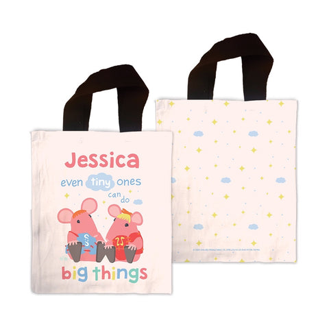 Clangers Tiny Ones Personalised Mini Tote Bag