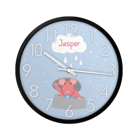 Clangers Cloud Personalised Clock