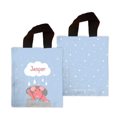 Clangers Cloud Personalised Mini Tote Bag