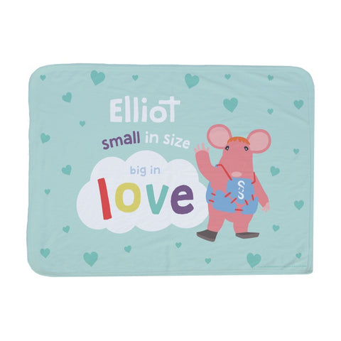 Clangers Small in Size Personalised Blanket