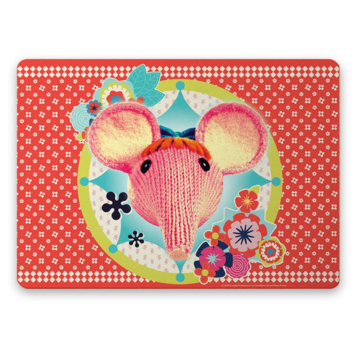 Hearts and Flowers Clangers Placemat